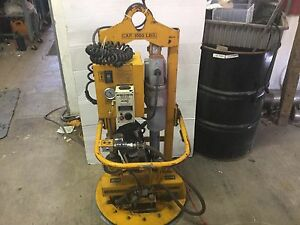 Anver Et100s Single Pad Electric Powered Vacuum Lifter 1000 Lbs