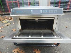 Turbo Chef High H Batch 2 Convection Commercial Pizza Oven Hhb 2 Ventless