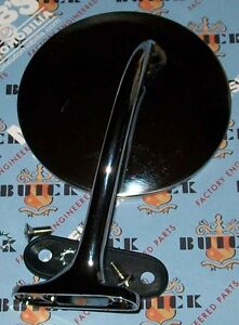 Pontiac Olds Chevrolet Left Drivers Side Outside Mirror 1948 53 King Bee
