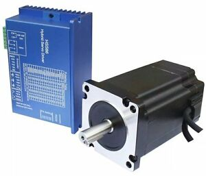 Nema34 8nm Closed Servo Motor 6a L 116mm 2hss86h Hybrid Step servo Drive