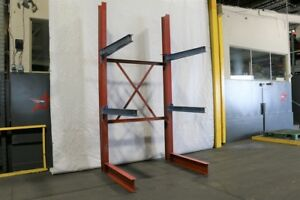 Used Cantilever Rack For Sale Starter Bay 108 Tall X 48 Arms Heavy Duty