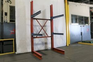 Used Cantilever Rack For Sale Starter Bay 89 Tall X 48 Arms Regular Duty