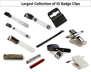 Wow Largest Selection Of Clips For Hanging Id Card Badge Holder Select Your Type