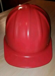 Vintage Mcdonald T Aluminum Hard Hat With New Red Cerakote And New Liner Usa