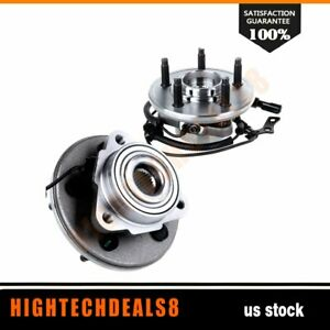 2 New Front Wheel Hub And Bearing Assembly For Ford Explorer Mountaineer W abs