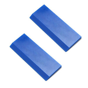 Window Tint Car Vinyl Wrapping Tool Blue Max Rubber Squeegee Decals Stickers Us