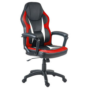 Merax Ergonomic Racing Style Pu Leather mesh Gaming Chair Executive Home Office