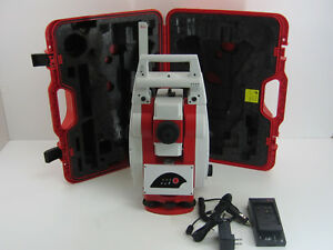 Leica Powertracker Robotic Total Station Only For Surveying One Month Warranty