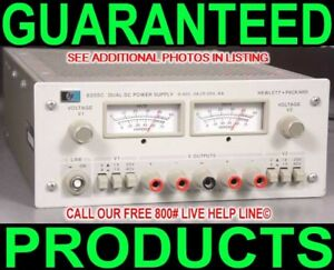 Hp Agilent 6205c Dual Output Bipolar Variable Test Bench Metered Dc Power Supply