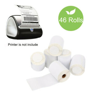 46 Rolls Dymo 4xl Direct Thermal Shipping Labels 4x6 Compatible1744907 220 roll