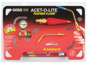 Feather Flame Air acetylene Torch Outfits 3 16 Acetylene b Soldering brazing