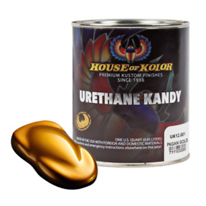 House Of Kolor Uk12 Pagan Gold Kosmic Kolor Urethane Kandy Auto Paint 1 Quart