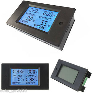 Dc 20a 200w Car Voltage Current Capacity Power Charge Discharge Battery Monitor