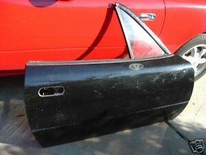 Mazda Miata Door 90 91 92 93 94 95 96 97 Black Mx5 Right Oem