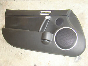 Mazda Miata Door Panel Black 06 07 08 09 10 11 12 Left Mx5 Oem