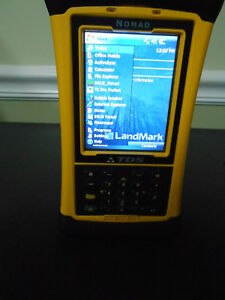 Trimble Nomad Tds Data Collector With Garmin Gps 10 Wireless Receiver