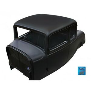 1932 Ford 5 Window Coupe Solid Roof Steel Body Doors Decklid Quarter Panels