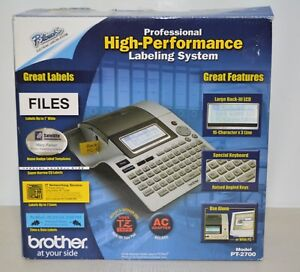 Brother P touch Pt 2700 Thermal Label Printer Nice Shape
