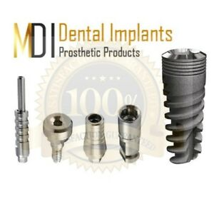 5 Mdi Spiral Dental Implant 3 3x11 Kit 5 Pieces Supply Internal hexagon System