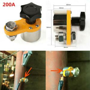 Small Size Magnetic Welding Ground Clamp 200a Industrial Permanent Block Device