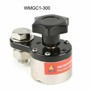 300a Magnetic Welding Ground Clamp Holder Connector Switch Soldering Fixture