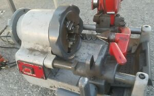 Pipe Threader Cutter Portable Compact Threading Ropower 50r