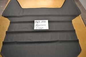 1969 69 1970 70 Ford Mustang Coupe Black Headliner Usa Made Top Quality