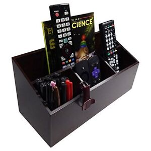 Octavia Wood 4 compartment Office Desk Organizer Caddy Large
