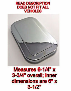 Chrome Plastic Brake Master Cylinder Cover 1988 1999 Chevrolet And Gmc Truck Car