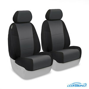 Coverking Neosupreme Front Custom Car Seat Cover For Chevy 14 18 Silverado 1500