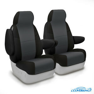 Coverking Neosupreme Front Custom Car Seat Cover Chevy 01 06 Silverado 2500 Hd
