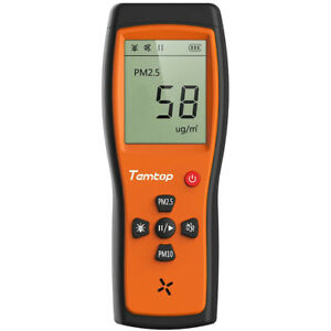 Temtop P200 Air Quality Laser Particle Monitor Detector Pm 2 5 Pm 10 Lcd Display