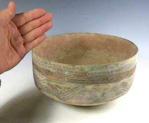 Large Indus Valley Balochistan Ancient Pottery Bowl