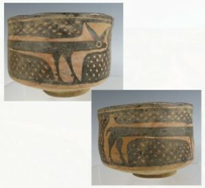 Very Unusual Indus Valley Balochistan Ancient Pottery Bowl