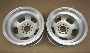 Aluminum Slotted 15 X 10 Mag Wheels 5 On 4 5 Us Racing Style American Ford Dodge