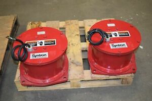 Syntron Magnetic Vibrator Fmc Syntron Magnetic Vibrators Unused new