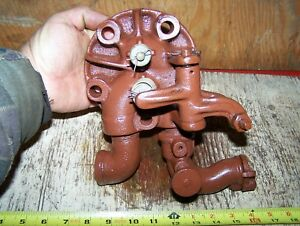 Old 1 1 2 And 2hp Hercules Economy Hit Miss Gas Engine Head Rebuilt Steam Nice