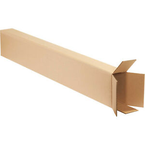 8 x4 x52 Side Loading Boxes 200 Lb Test ect 32 Kraft 15 Pack Lot Of 15
