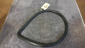 New Nos 39 Chevy Coupe Rear Stationary Side 1 4 Glass Window Channel Rubber Seal
