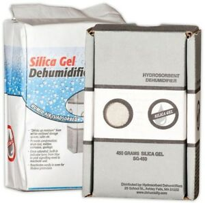 Hydrosorbent Silica Gel Air Dehumidifier Dessicant Packets Safe Pack New