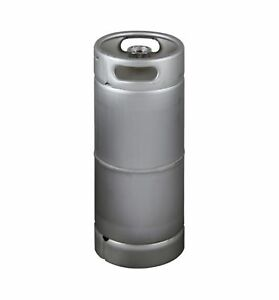 Kegco 5 Gallon Commercial Keg Drop in D System Sankey Valve Stainless Steel