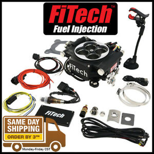 Fitech Fuel Injection 30004 Go Efi 600 Hp Power Adder System Black Throttle Body