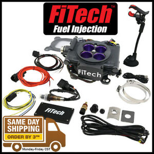 Fitech Fuel Injection 30008 Meanstreet Efi 800 Hp System Black Throttle Body