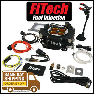 Fitech Fuel Injection 30012 Go Efi 8 1200hp Power Adder Plus System Black