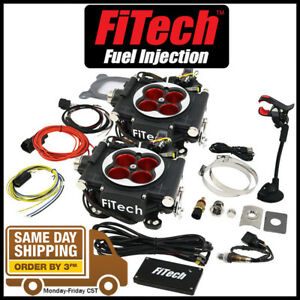 Fitech Fuel Injection 30064 Go Efi 2x4 1200hp Power Adder Black Throttle Body