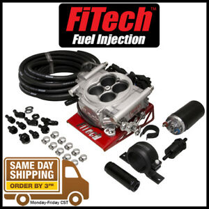 Fitech Go Efi 4 600hp Self Tuning Fuel Injection Conversion W Inline Fuel Pump