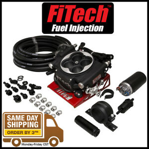 Fitech Go Efi 4 600hp Electronic Fuel Injection Efi System W Inline Pump Black