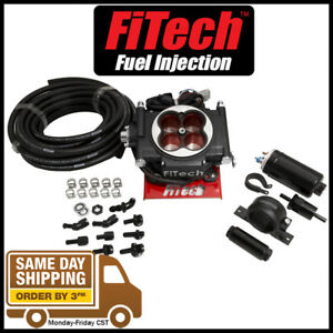 Fitech Fuel Injection 31004 Go Efi 600 Hp Power Adder System W Inline Pump Black
