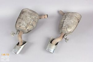 06 08 Mercedes W219 Cls500 Cls550 Exhaust Muffler Mufflers Right And Left Oem