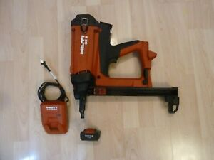 Hilti X m40s Gx 2 Gas And Battery Actuated Fastening Tool W Battery And Charger